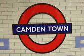лондон - 1 июня: станция метро camden town — Стоковое фото