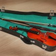 Quarter Size Learning Violin Case — Stock Photo