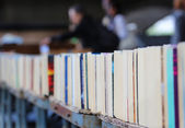 Second Hand Books On Display — Stock Photo