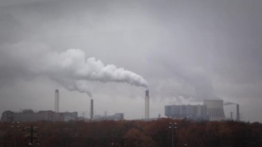 Air pollution — Stock Video