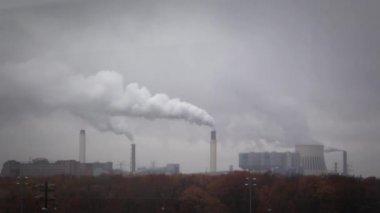 Zanieczyszczenia powietrza — Wideo stockowe
