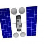Communication Satellite — Stock Photo