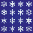 Vecteur: Set of snowflakes