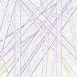 Chaotic bright lines, vector — Stock Photo