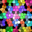 Color squares — Stock Photo
