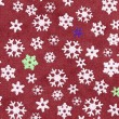 Snowflake icon set — Stock Photo #30603017