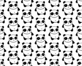 Panda Pattern — Stock Vector