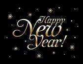 Feliz año nuevo. vector — Vector de stock