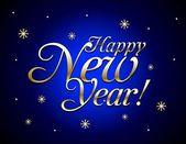 Gelukkig nieuwjaar. vector — Stockvector