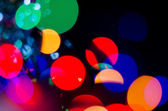 Christmas abstract background. Christmas garland lights — Stock Photo