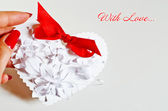 Greeting card Happy Valentine's Day — Stock Photo