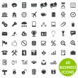 Royalty-Free Stock Imagen vectorial: 60 valuable creative business icons