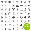 Royalty-Free Stock Vector: Sports icons basics vector