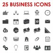 Business office icons vector - Stockvectorbeeld