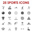 Sports icons vector — Stock Vector #14083427