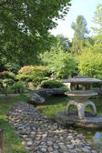 Chinese garden in Wurzburg — Stock Photo