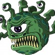 Royalty-Free Stock Vector Image: Isolated beholder monster