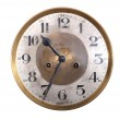 Old antique wall clock — Stock Photo