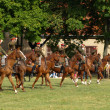 Cavalry charge — Stock Photo