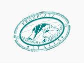 кронплац лыжная станция — Cтоковый вектор