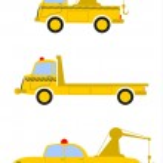Постер, плакат: Tow trucks