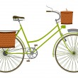 Royalty-Free Stock Vector Image: Classic bike.
