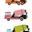 Royalty-Free Stock Vector Image: Concrete mixer.