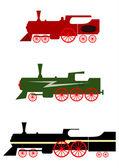Locomotive set. — Vecteur