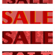 Sales banners set — Stock Vector