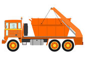 Garbage truck — Stock Vector