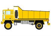 Tipper truck — Stock Vector