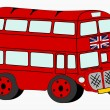 Stock Vector: London bus.