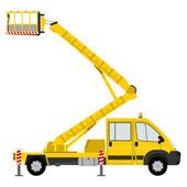 Bucket Truck. — Stock Vector