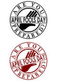 Fools day — Stock Vector