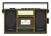 Retro cassete player — Stock Vector