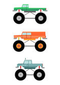Monster truck — Stock Vector