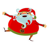 Cartoon Santa Claus — Stock Vector