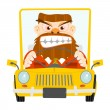 Road rage — Stock Vector #38199267