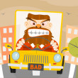 Road rage — Stock Vector #38199279