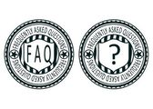 FAQ stamps — Stock Vector