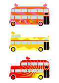 Party bus — Stock Vector