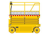 Scissor lift — Stock Vector