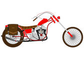 Motorcycle — Vector de stock