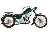 Motorcycle — Vecteur