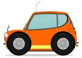 Small car — Stock Vector