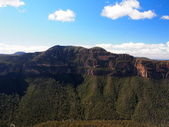 Blue mountains — Stockfoto