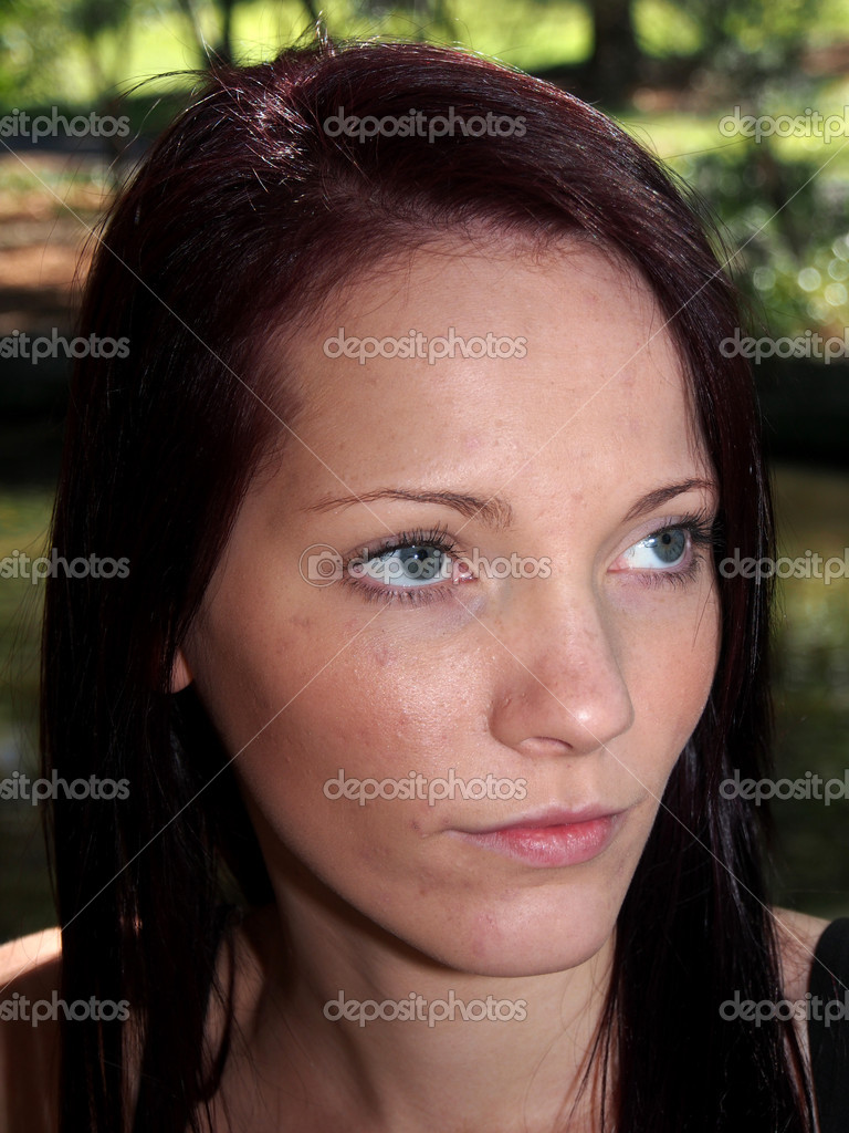 This is a woman model — Stock Photo #13749084