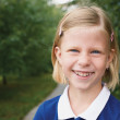 Stock Photo: Portrait of beautiful schoolgirl