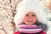 Winter wgirl — Stockfoto