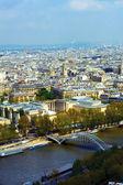 Seiny v paříži, francie — Stock fotografie